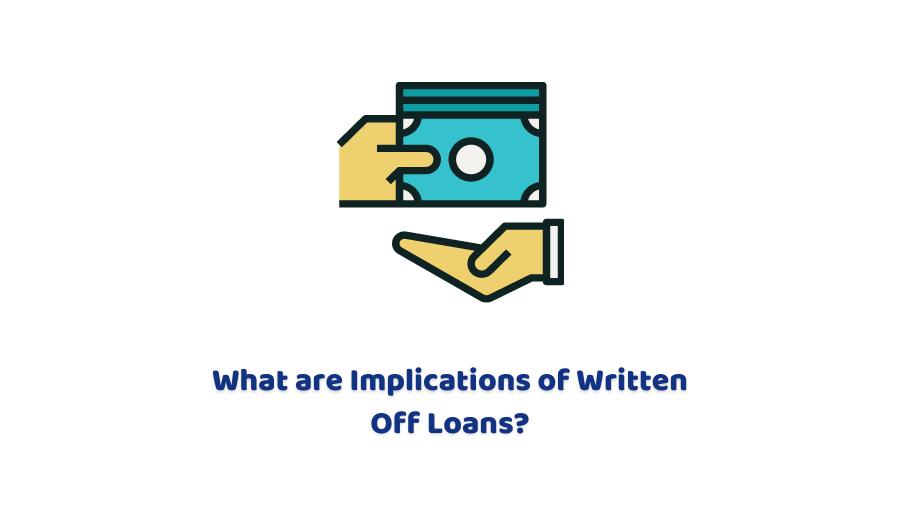 write off loan