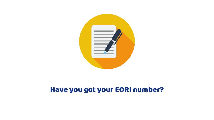 EORI number UK