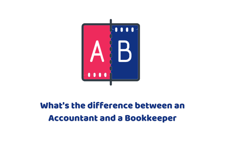 difference between bookkeeper and accountant