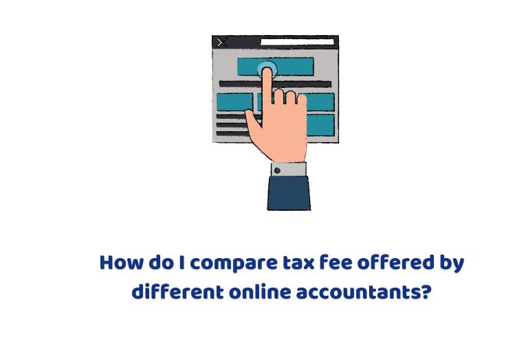 Compare tax fee