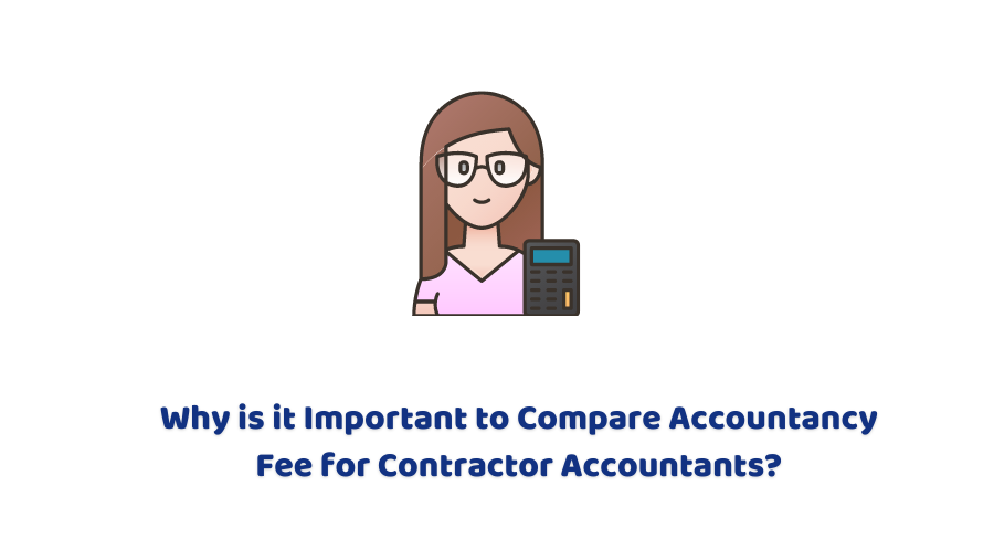 compare accountancy fee for contractor accountants