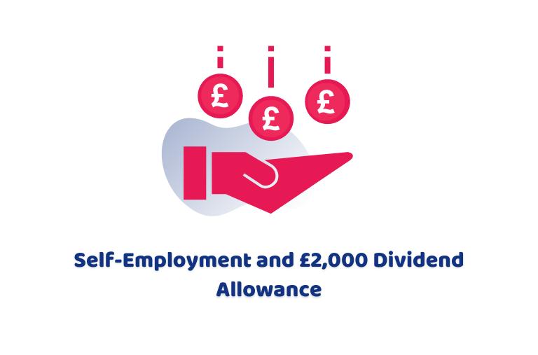 Self-employment and the £2,000 dividend allowance