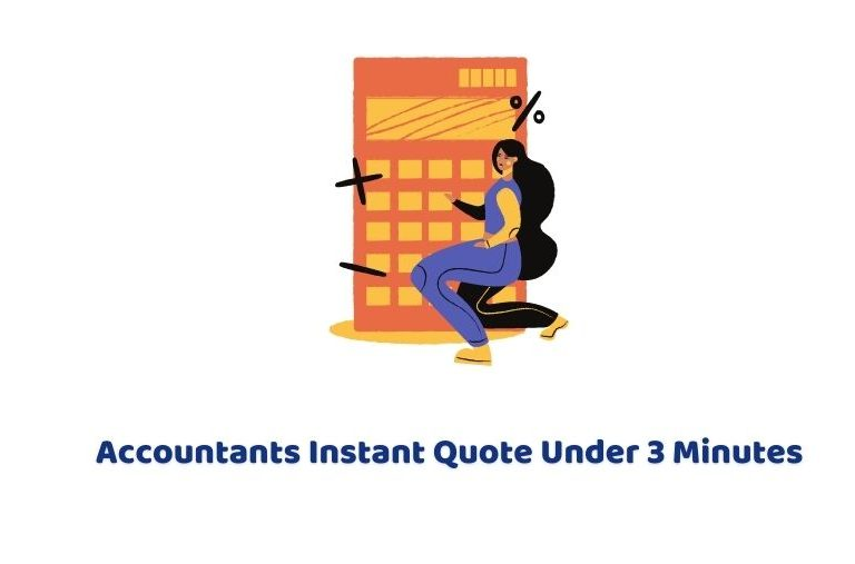 Accountants instant quote under 3 minutes