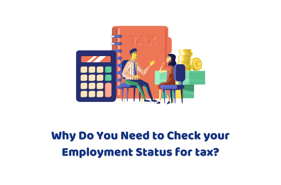 check Employment Status for tax