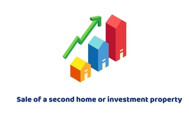 Sale of a second home or investment property