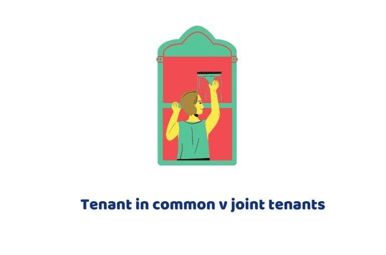 Tenant in common vs joint tenants