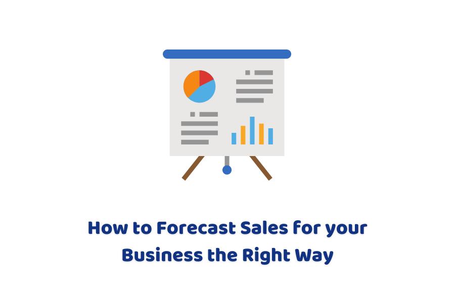 how to do sales forecast