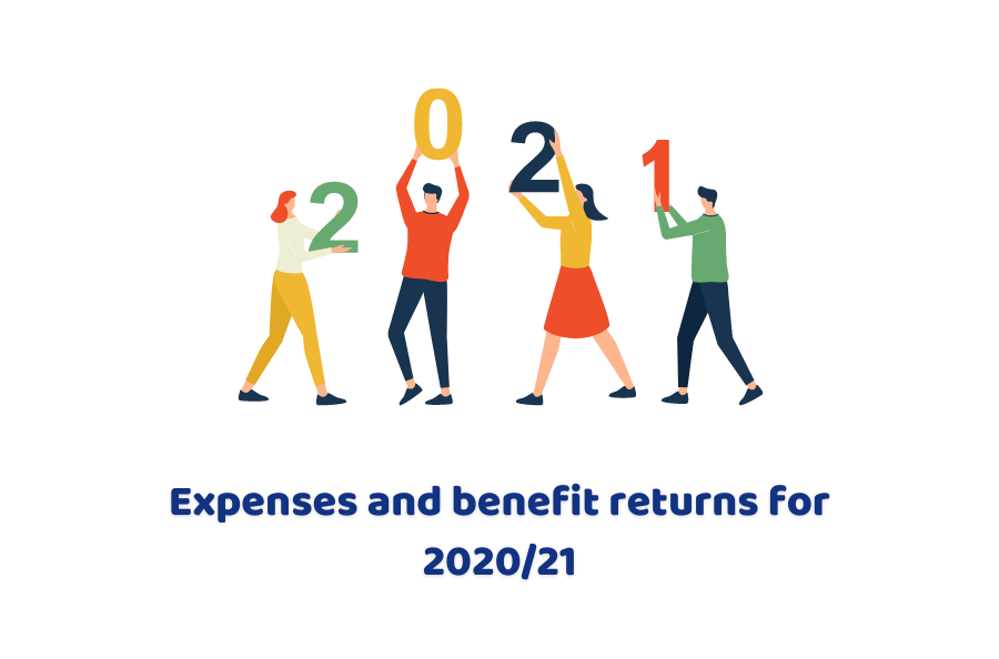 Expenses And Benefit Returns For 2020/21