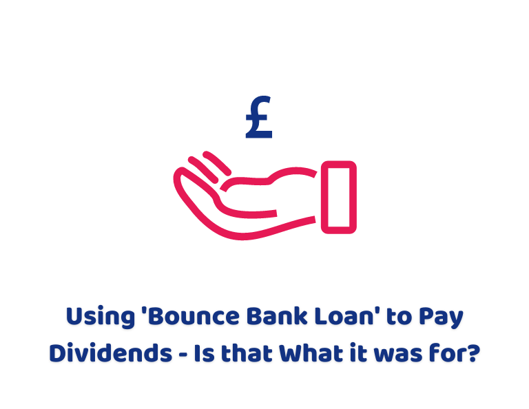 Using 'Bounce Bank Loan' to Pay Dividends